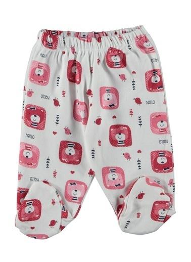 Locopop Pijama Takımı Patikli Kırmızı